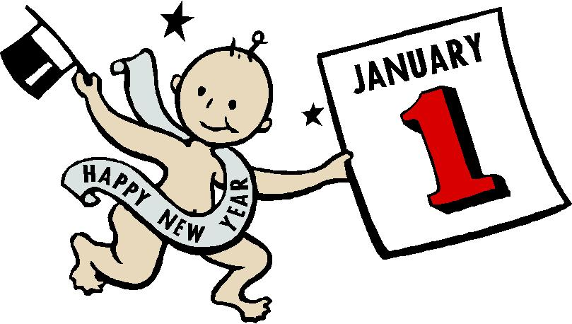 January 1 clipart image free January Anniversary Cliparts | Free download best January ... image free