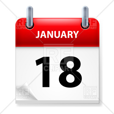 January 18th calendar clipart picture free library January 18th calendar clipart - ClipartFest picture free library