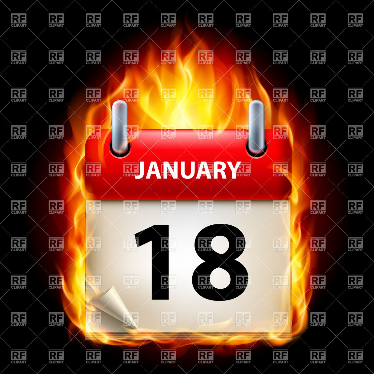 January 18th calendar clipart banner royalty free January 18th calendar clipart - ClipartFest banner royalty free