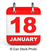January 18th calendar clipart svg free library Metal calendar january 18 Illustrations and Clipart. 5 Metal ... svg free library