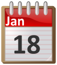 January 18th calendar clipart svg free library 01 January Clip Art Download svg free library