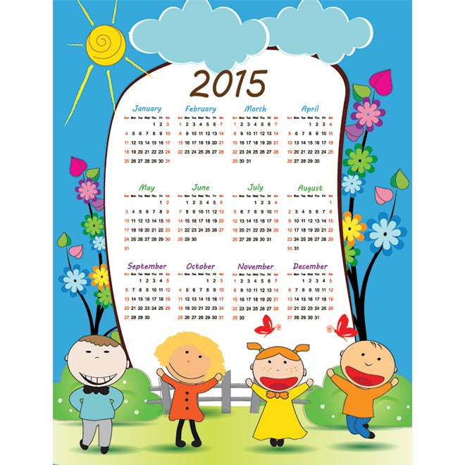 January 2015 calendar clipart banner freeuse January Calendar Clipart - Clipart Kid banner freeuse
