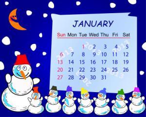 January 2015 calendar clipart vector library library January 2015 clipart - ClipartFest vector library library