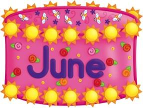 January birthday cake clip art graphic royalty free stock Birthday Cake - June - Scholastic Printables graphic royalty free stock