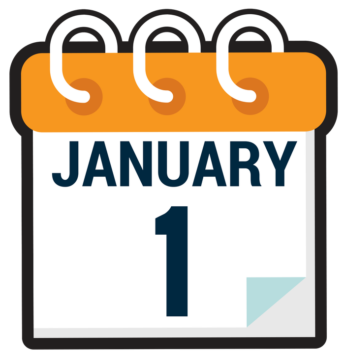 January calendar clip art clip art black and white library New ULAM Husbandry Per-Diem Rates Go Into Effect January 1 | Animal Care clip art black and white library