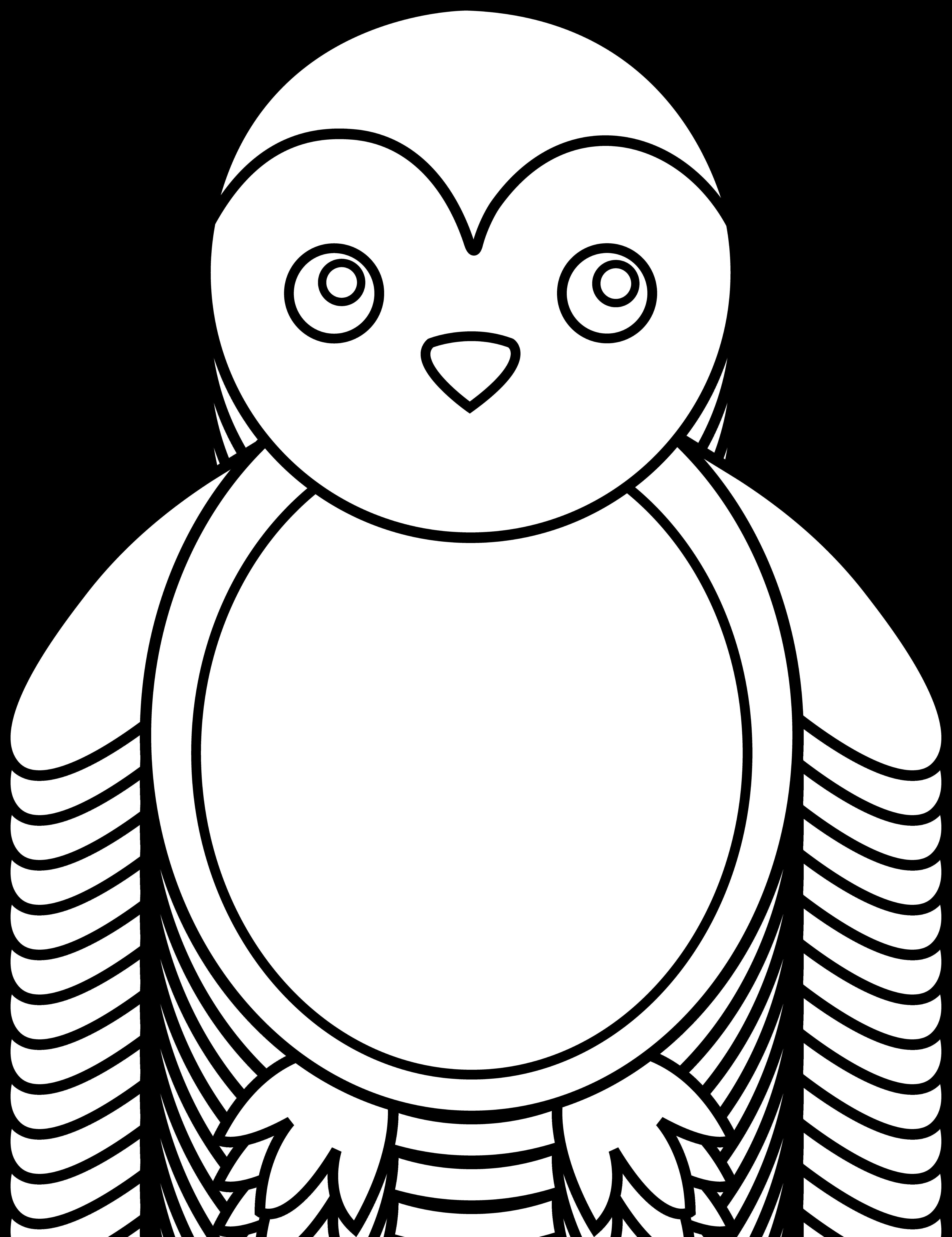 January clipart black and white nursery freeuse Penguin Clipart Black And White Free | Free download best Penguin ... freeuse