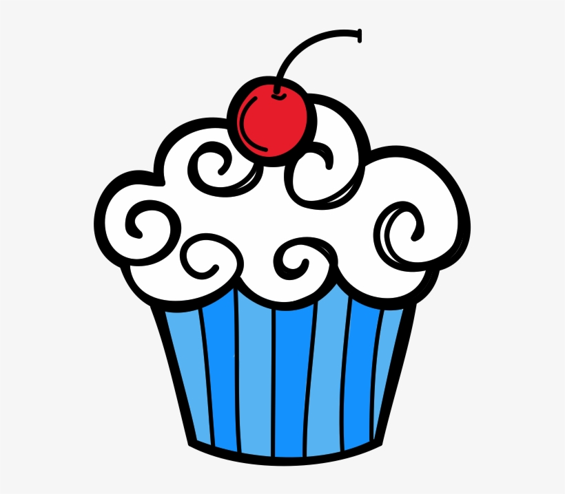 January cupcake clipart picture January - Cupcake Clipart Transparent PNG - 597x770 - Free Download ... picture