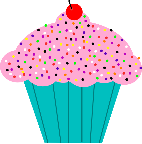 January cupcake clipart image freeuse stock Animated Cupcakes - Clip Art Library image freeuse stock