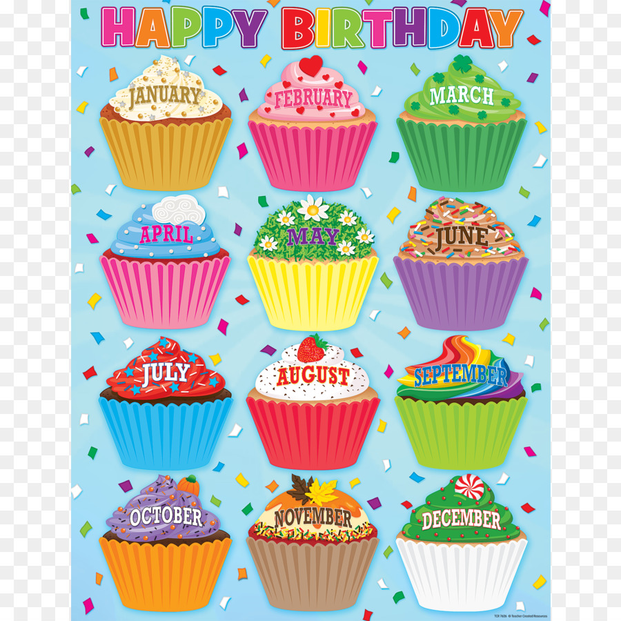 January cupcake clipart image transparent library School Background Design clipart - Cupcake, Birthday, Education ... image transparent library