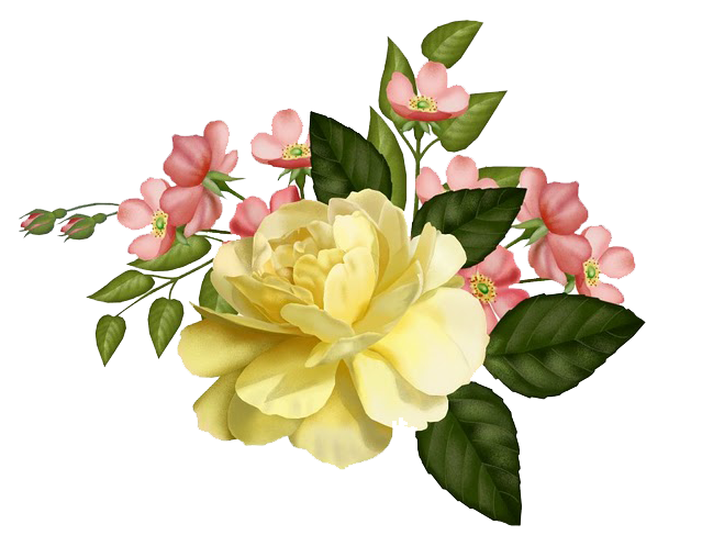 January flower clipart vector Vintage pictures for free / Free vintage images: January 2012 ... vector