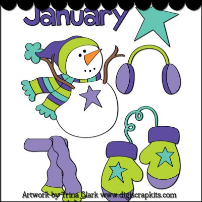 January month clip art png library stock 17 Best images about January on Pinterest | Graphics, January ... png library stock