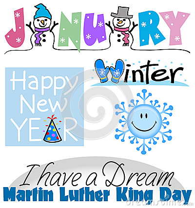 January month clip art clip art library stock January Clip Art Stock Illustration - Image: 44873109 clip art library stock