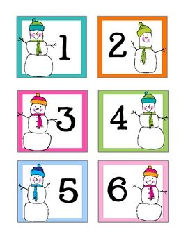 January snowman calendar clipart transparent library January / Winter Calendar Cards - Doodle Bugs Teaching ... transparent library