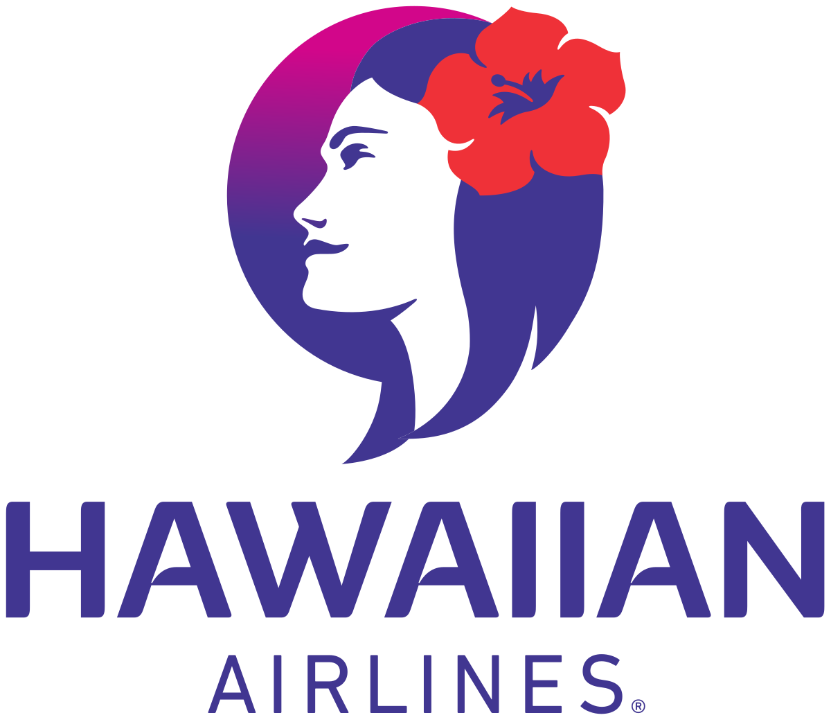 Japan airlines logo clipart clip black and white Hawaiian Airlines - Wikipedia clip black and white