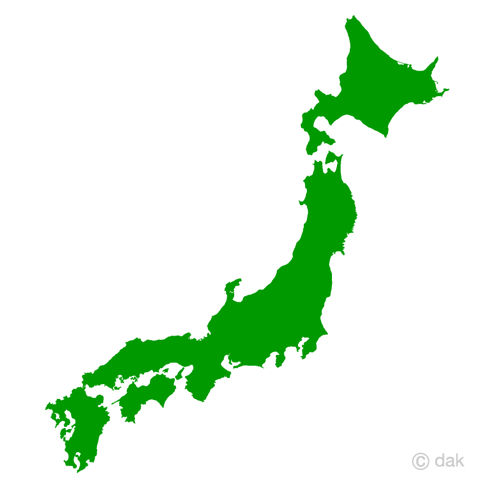 Japan map clipart picture royalty free stock Japanese Map Free Picture|Illustoon picture royalty free stock