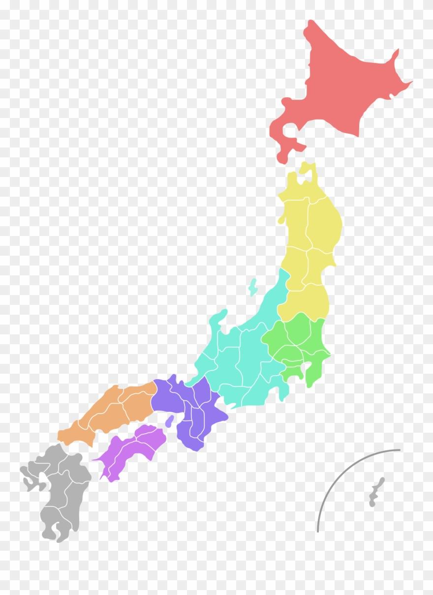 Japan map clipart clipart stock Shape - Japan Map Vector Png Clipart (#21960) - PinClipart clipart stock