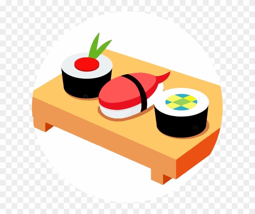 Japanese restaurant clipart clip art stock Japanese Food Clipart Spring - Japanese Sushi Clipart - Png Download ... clip art stock