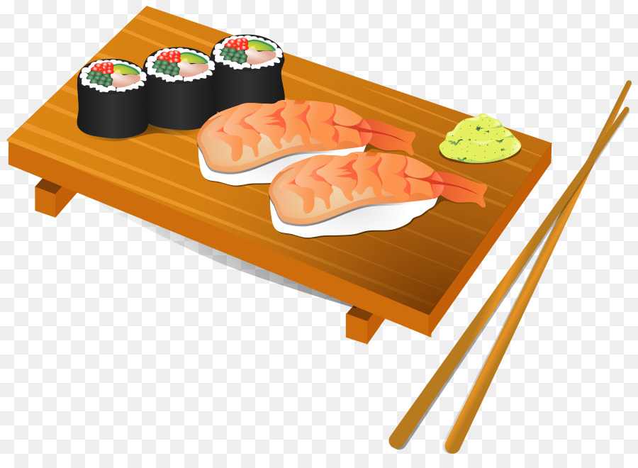 Japanese restaurant clipart picture library download Sushi Cartoon png download - 900*648 - Free Transparent Sushi png ... picture library download