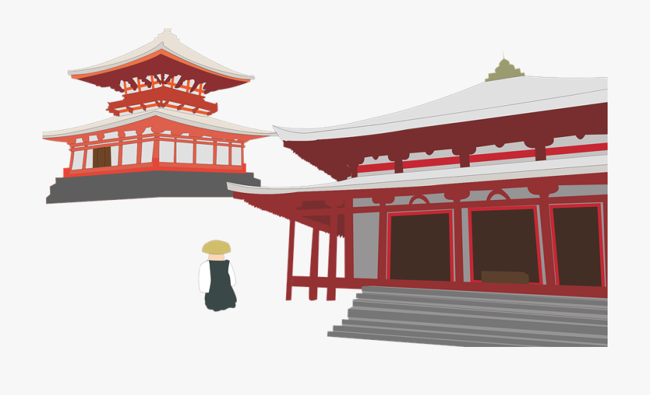 Japan temple clipart clip art royalty free library Black And White Library Japanese Clipart Temple Japan - Chinese ... clip art royalty free library