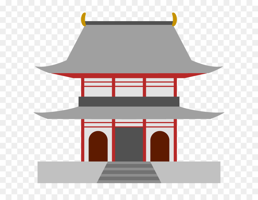 Japanese temple clipart picture transparent library Chinese Background png download - 700*700 - Free Transparent Temple ... picture transparent library