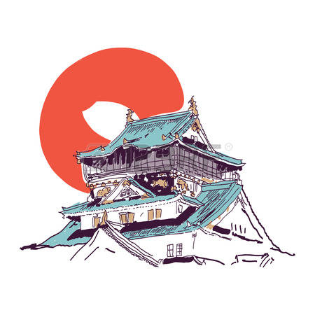 Japan traditional house clipart royalty free stock 4,980 Japanese House Cliparts, Stock Vector And Royalty Free ... royalty free stock