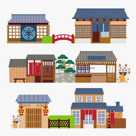 Japan traditional house clipart vector library download 4,980 Japanese House Cliparts, Stock Vector And Royalty Free ... vector library download
