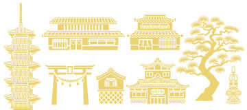 Japan traditional house clipart free library Japanese Traditional Old House Isolated Stock Photo - Image: 70557840 free library