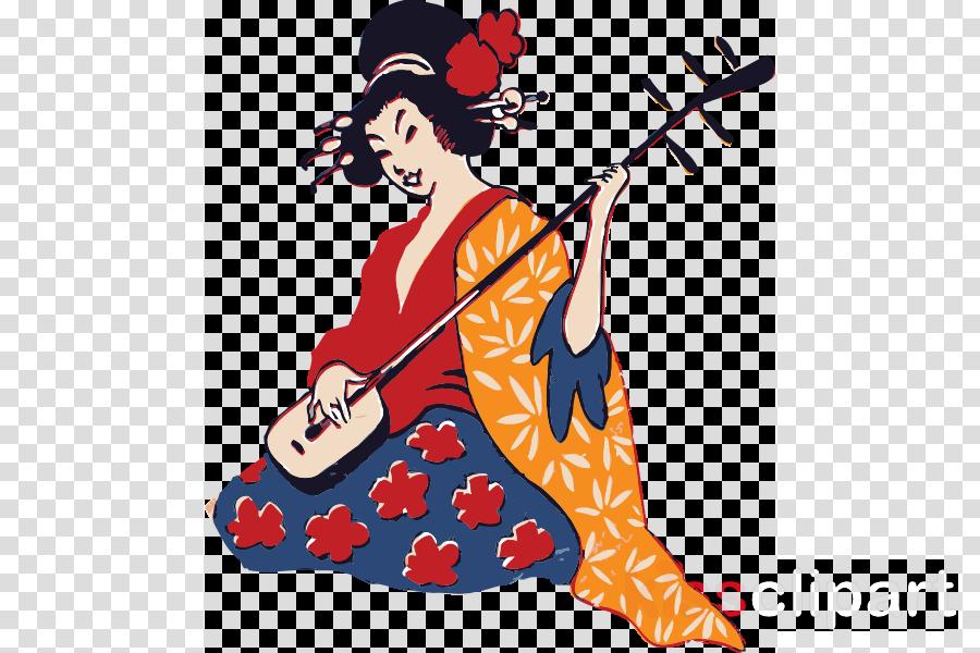Japanese art clipart clip transparent download Woman Cartoon clipart - Japan, Drawing, Painting, transparent clip art clip transparent download