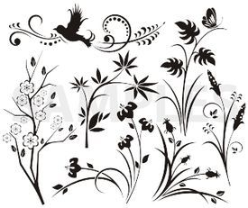 Japanese designs clipart clipart download japanese, floral designs, vinyl-ready, ornaments, ornamental art ... clipart download