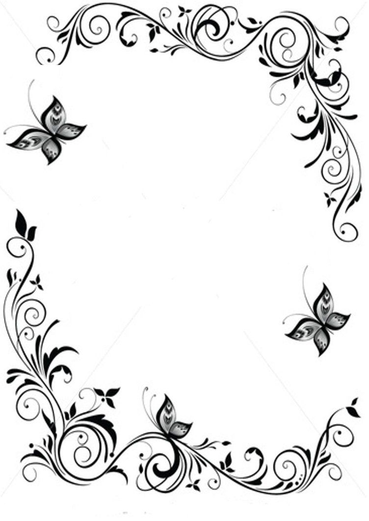 Japanese designs clipart png library Japanese Border Designs Cliparts Co | outline | Page borders design ... png library
