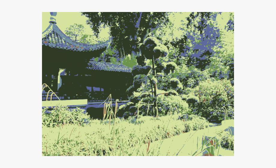 Japanese garden clipart clip Japanese Garden Clipart Chinese Garden - Chinese Garden #916759 ... clip