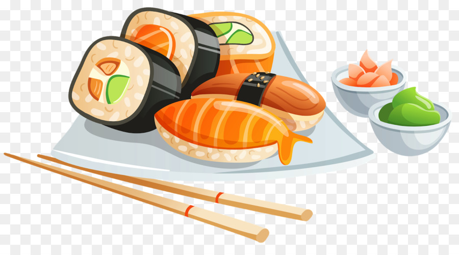Japanese restaurant clipart clip library Sushi Cartoon png download - 1600*866 - Free Transparent ... clip library