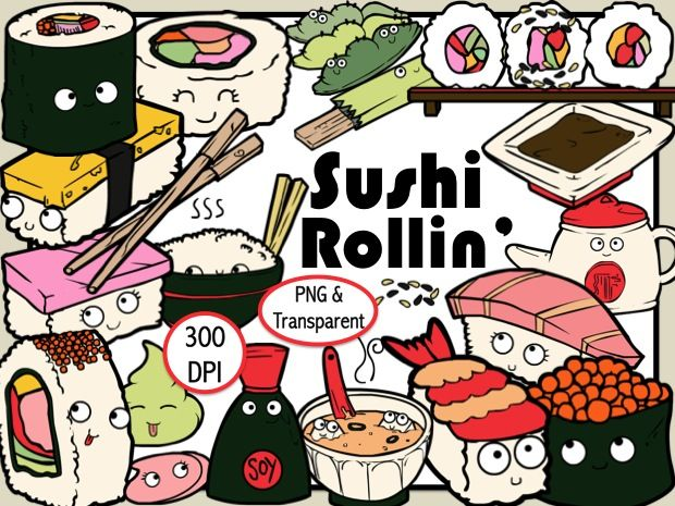 Japanese restaurant clipart clip free download Sushi Restaurant (Digital Clip Art) in 2019 | Sushi | Sushi ... clip free download