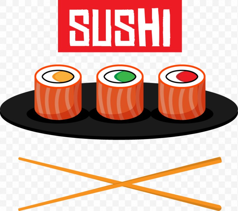 Japanese restaurant clipart picture Sushi Japanese Cuisine Fish Clip Art, PNG, 841x745px, Sushi ... picture