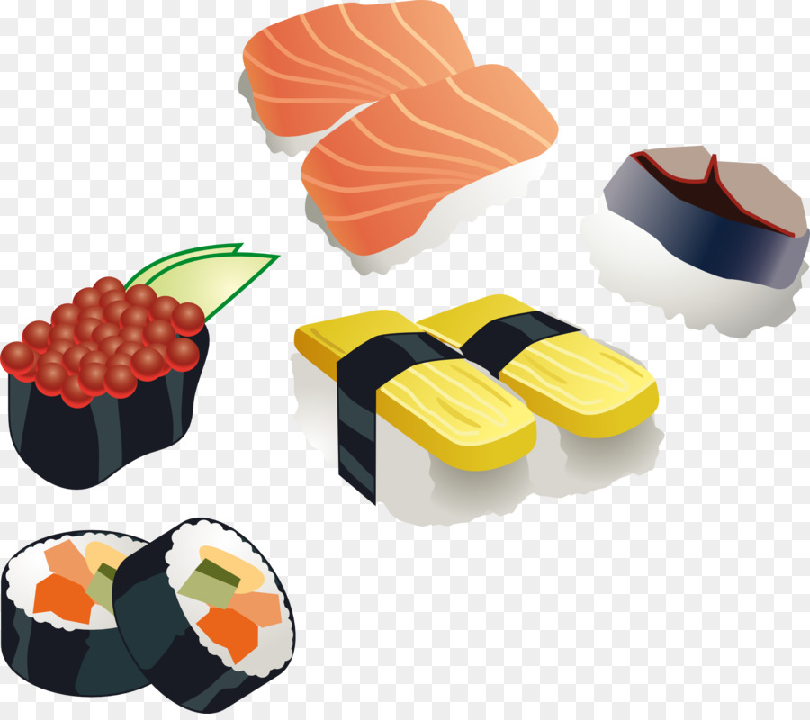 Japanese restaurant clipart png royalty free download Sushi Cartoon clipart - Sushi, Product, Food, transparent ... png royalty free download