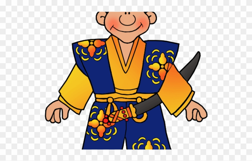 Japanese samurai clipart clip library library Samurai Clipart Chinese Soldier - Japan Samurai - Png Download ... clip library library