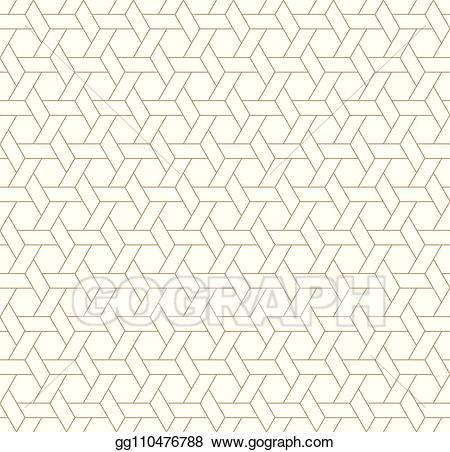 Japanese screen clipart graphic freeuse stock Vector Illustration - Seamless japanese pattern kumiko for shoji ... graphic freeuse stock