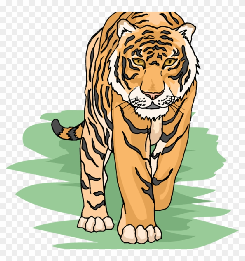 Japanese tiger clipart graphic transparent library Free Tiger Clipart For Teachers - Tiger Clipart, HD Png Download ... graphic transparent library