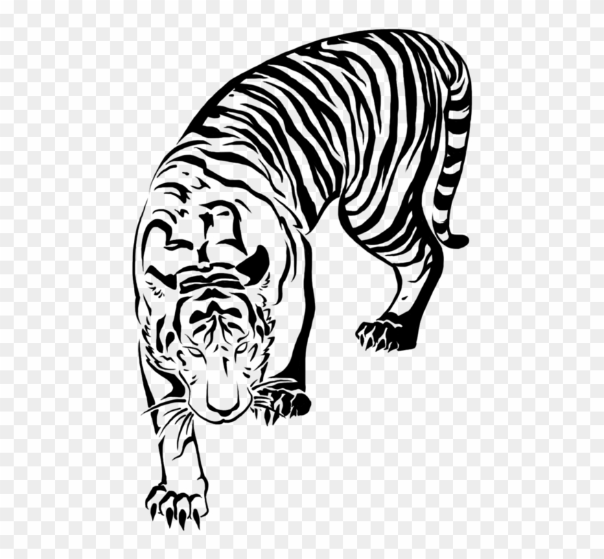 Japanese tiger clipart svg stock 498 X 735 4 - Tattoo Japanese Tiger Drawing Clipart (#3710852 ... svg stock