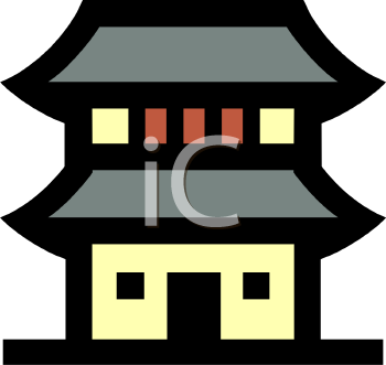 Japanese traditional house clipart royalty free download Japan house clipart - ClipartFest royalty free download