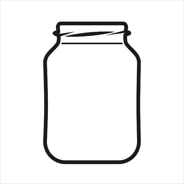 Jar clipart image black and white stock 33+ Jar Clipart | ClipartLook image black and white stock