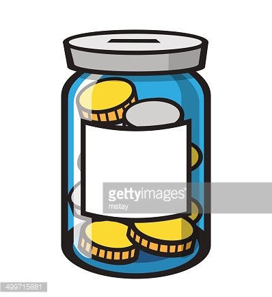 Jar of coins clipart image royalty free library Coin Jar premium clipart - ClipartLogo.com image royalty free library