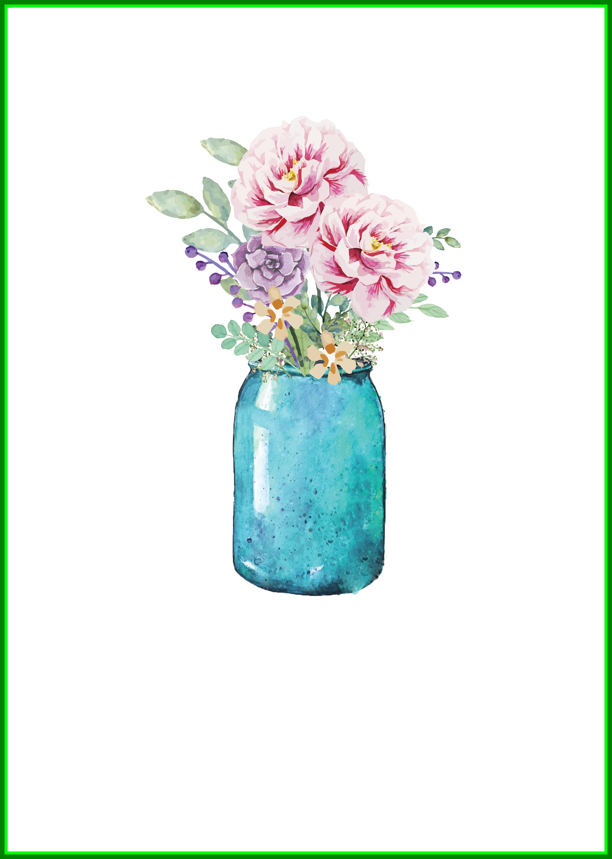 Jar of money clipart clipart free 20 Ideas of Mason Jar Bouquet Clipart - Flower Bouquet clipart free