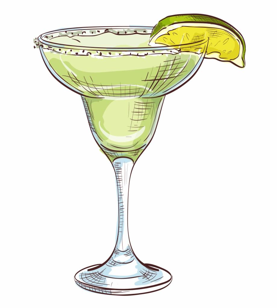 Clipart margaritas graphic royalty free Vector Margarita Martini Juice Transprent Png Free - Transparent ... graphic royalty free