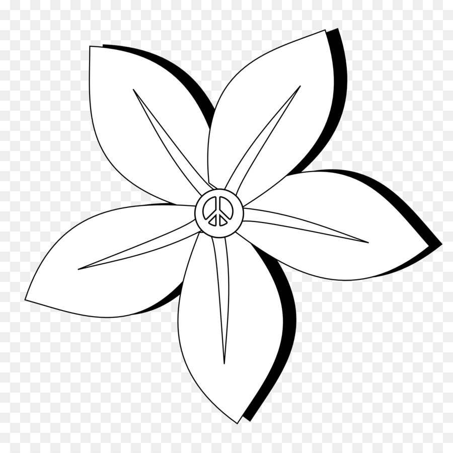 Jasmine flowers line clipart black and white picture royalty free download Black And White Flower clipart - Drawing, Sketch, Flower ... picture royalty free download