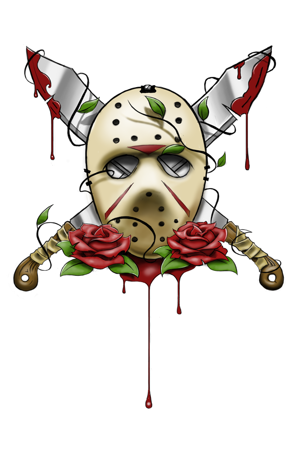 28+ Collection of Cute Jason Voorhees Drawing | High quality, free ... clip art royalty free