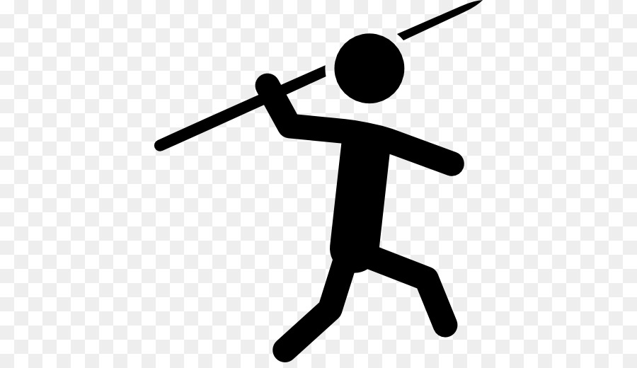 Javelin throw clipart image transparent Javelin Throw Black And White png download - 512*512 - Free ... image transparent