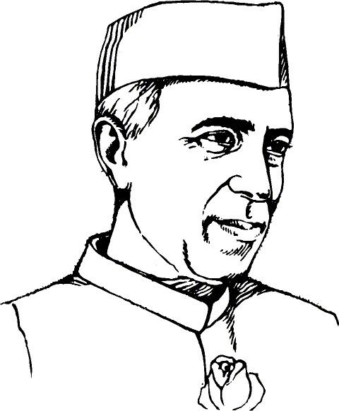 Jawaharlal nehru clipart jpg library stock Jawaharlal nehru clipart » Clipart Station jpg library stock