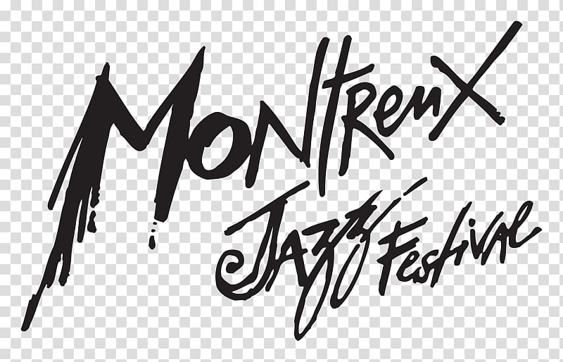 Jazz logo clipart black and white download Montreux Jazz Festival art, Montreux Jazz Festival transparent ... black and white download