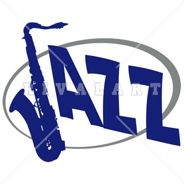 Jazz logo clipart banner black and white library Even Jazz band needs cool graphics! #jazz #band #music #jazzgraphics ... banner black and white library